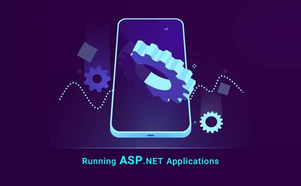running asp.net applications