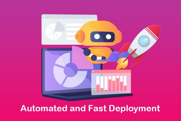 automated and fast deployment recovered