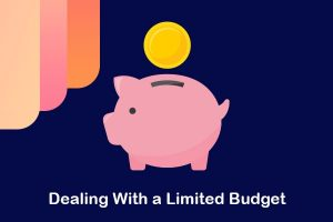dealing with a limited budget