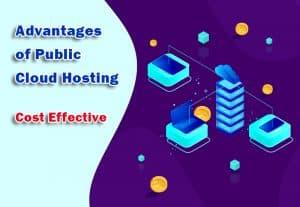 Advantages of Public Cloud Hosting - Cost Effective