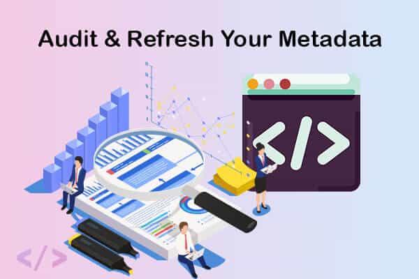 audit your metadata