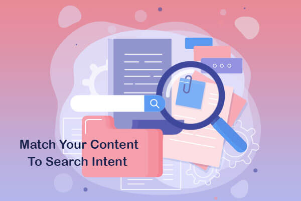 match your content to search intent