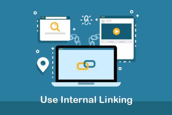 use internal linking