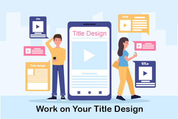 work on your title design