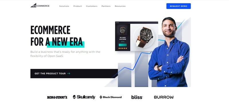 bigcommerce cms site