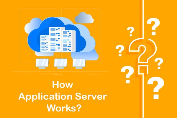 how application server works