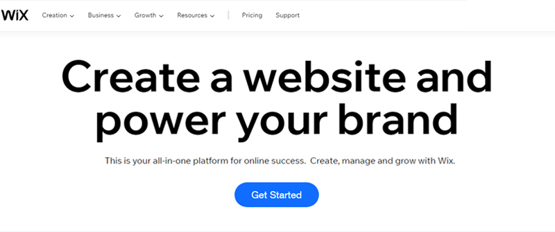 wix cms site
