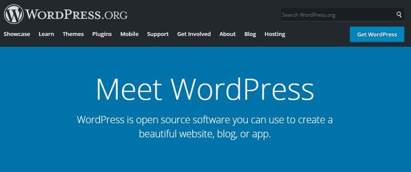 wordpress cms site